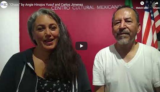screenshot of Artist highlight: Angie Hinojos Yusuf and Carlos Jimenez