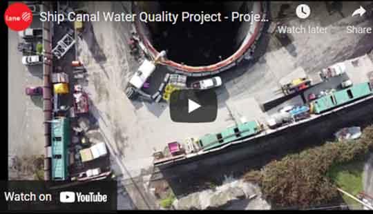 screenshot of Project Executive Keith Ward video