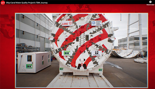 screenshot of Tunnel Boring Machine Journey